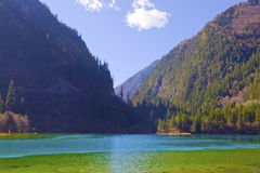 The beautiful scenery of jiuzhaigou Stock Photography
