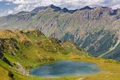 Beautiful scenery landscape with mountain lake Stock Photography