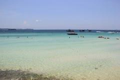 Beautiful Scenery of Larn Island, Pattaya, Thailand Royalty Free Stock Photography