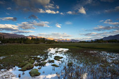 Beautiful scenery, Leh, Ladakh,   India Stock Image