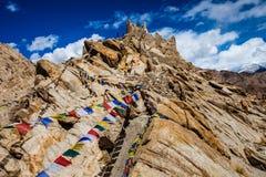 Beautiful scenery, Leh, Ladakh, Jammu and Kashmir, India Stock Images