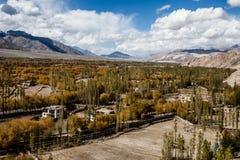 Beautiful scenery, Leh, Ladakh, Jammu and Kashmir, India Royalty Free Stock Images
