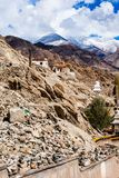 Beautiful scenery, Leh, Ladakh, Jammu and Kashmir, India Stock Photo