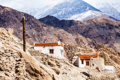 Beautiful scenery, Leh, Ladakh, Jammu and Kashmir, India Royalty Free Stock Photos