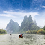 Beautiful scenery of lijiang river Royalty Free Stock Image