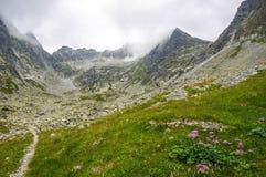 Beautiful scenery in the mountains. Slovakia Royalty Free Stock Photo