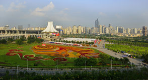 Beautiful Scenery of Nanning. The picture shows us the beautiful scenery of East Nanning. Nanning is the capital city of Guangxi Zhuang Autonomous Region in Stock Photo