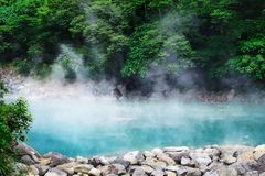 Free Beautiful Scenery Of Hot Spring In The Forest In Beitou District, Taiwan Stock Images - 164956364