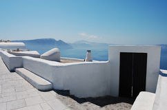 Beautiful scenery of Oia town Royalty Free Stock Photography