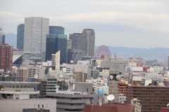 Beautiful Scenery of Osaka in Japan Royalty Free Stock Photography