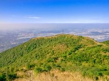The beautiful scenery of the peak of wutong. Wutong mountain scenic area is located in east longitude 113 ° 17 `~ 114 ° 18`, north latitude 22 ° 23 `~ 22 ° Stock Photos