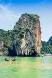 Beautiful scenery of Phang Nga National Park in Thailand. Landscapes of Phang Nga National Park in Thailand Stock Images