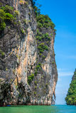 Beautiful scenery of Phang Nga National Park in Thailand Stock Photos
