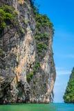 Beautiful scenery of Phang Nga National Park in Thailand. Landscapes of Phang Nga National Park in Thailand Stock Photos