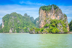 Beautiful scenery of Phang Nga National Park in Thailand Stock Image