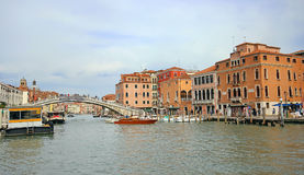 Beautiful scenery of the picturesque Venice. Beautiful scenery of the picturesque Venice in Italy Stock Photos