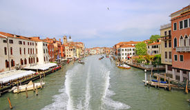 Beautiful scenery of the picturesque Venice. Beautiful scenery of the picturesque Venice in Italy Stock Photography