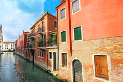 Beautiful scenery of the picturesque Venice. Beautiful scenery of the picturesque Venice in Italy Royalty Free Stock Photos