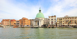 Beautiful scenery of the picturesque Venice. Beautiful scenery of the picturesque Venice in Italy Royalty Free Stock Images