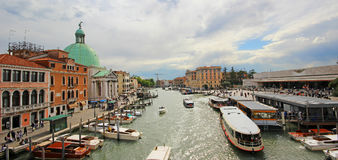 Beautiful scenery of the picturesque Venice. Beautiful scenery of the picturesque Venice in Italy Stock Images