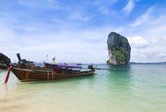 Beautiful scenery at Poda Island at Krabi Thailand Royalty Free Stock Photo