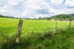 Beautiful scenery prospects around Rursee. Beautiful views around the Rursee Stock Image