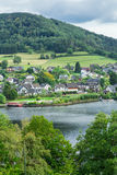 Beautiful scenery prospects around Rursee Royalty Free Stock Photography