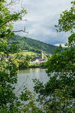 Beautiful scenery prospects around Rursee Royalty Free Stock Images