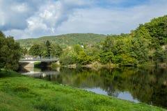 Beautiful scenery prospects around Rursee Royalty Free Stock Photo