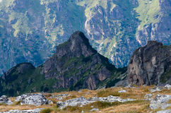 Beautiful scenery of Rila mountain, Bulgaria. During summer Stock Photography