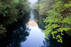 Beautiful scenery of a river Royalty Free Stock Photography