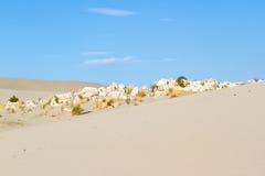 Beautiful scenery sandy Patara in Turkey. Sand and sky Royalty Free Stock Photography