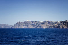 Beautiful scenery of Santorin Royalty Free Stock Images