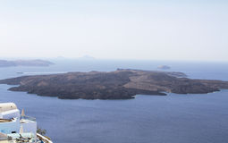 Beautiful scenery of Santorin Royalty Free Stock Photography