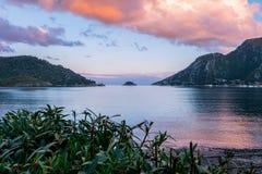 Beautiful scenery. Beautiful sea scenery at Marmaris royalty free stock images