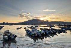 Beautiful scenery of Taiwan Pier Royalty Free Stock Photos
