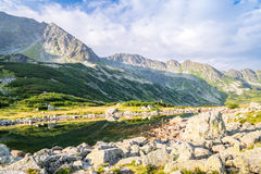 Beautiful scenery of Tatra Mountains National Park Stock Photography