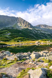 Beautiful scenery of Tatra Mountains National Park Royalty Free Stock Photos