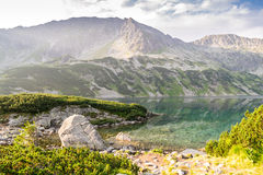 Beautiful scenery of Tatra Mountains National Park. Poland Royalty Free Stock Photos