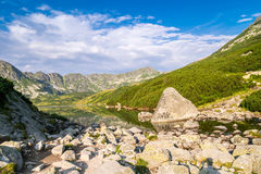 Beautiful scenery of Tatra Mountains National Park Stock Photo