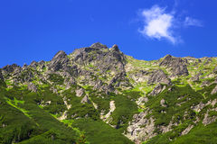 Beautiful scenery of Tatra mountains Stock Photography
