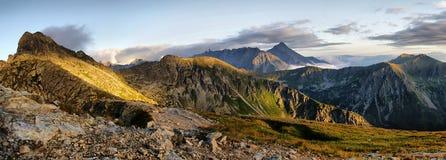 Beautiful scenery of Tatra mountains and Swinica Stock Photos