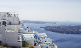 Beautiful scenery of Thira Royalty Free Stock Photography