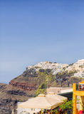 Beautiful scenery of Thira Stock Photo
