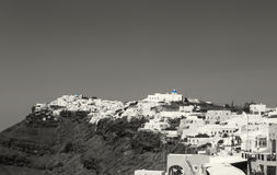 Beautiful scenery of Thira Royalty Free Stock Images
