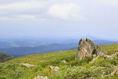 Beautiful scenery top of ridge Iolgo Stock Photos