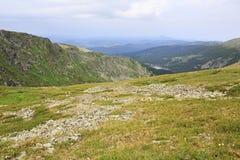 Beautiful scenery top of ridge Iolgo Royalty Free Stock Photos