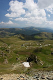 Beautiful scenery from Transalpina Stock Photo
