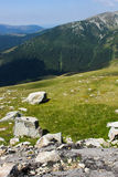 Beautiful scenery from Transalpina Royalty Free Stock Images