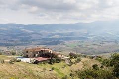 Beautiful scenery of Tuscany, Italy Royalty Free Stock Image
